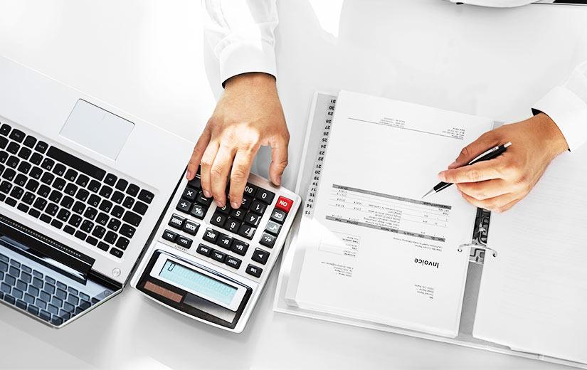 BBF Lawyer Using A Calculator Horizontal